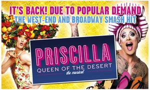ATG Tickets: Priscilla Queen of The Desert Starring Darren Day at New Victoria Theatre, 15-24 February (Up to 32% Off)
