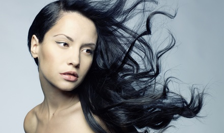 Men's and Women's Hairstyling Services at Captains Chair Hair Studio and Spa (Up to 60% Off)