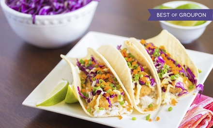 Mexican Food and Drinks for Two or Four at Señor Fish (Up to 40% Off)
