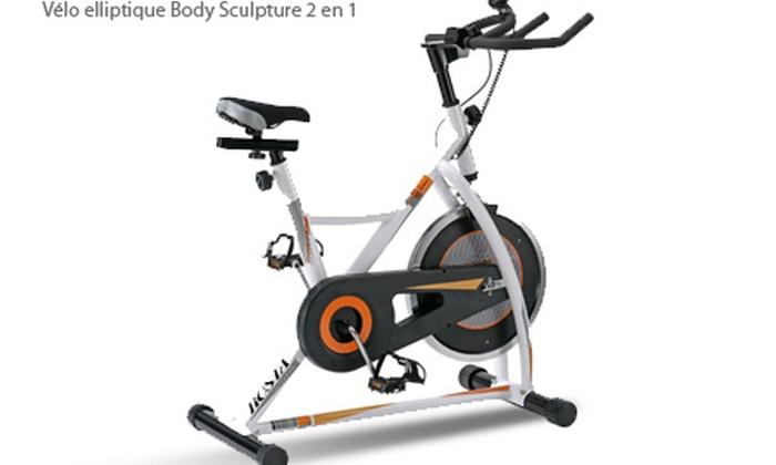 V lo elliptique rameur ou v lo de course groupon shopping - Tapis de course ou velo elliptique ...