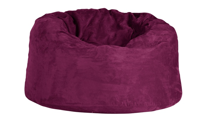 pouf xxl m moire de forme groupon shopping. Black Bedroom Furniture Sets. Home Design Ideas