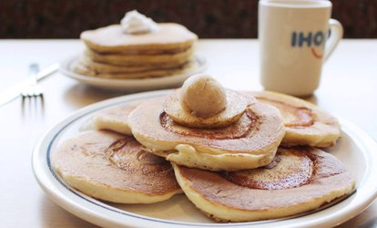 image for Casual Cuisine at IHOP (Up to 53% Off). Two Options Available.
