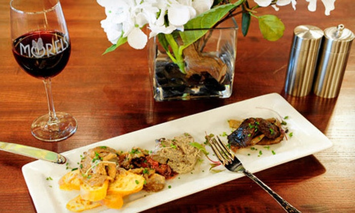 Morels - Farmington: Locally Sourced Prix Fixe Dinner or Lunch for Two at Morels (Up to Half Off)