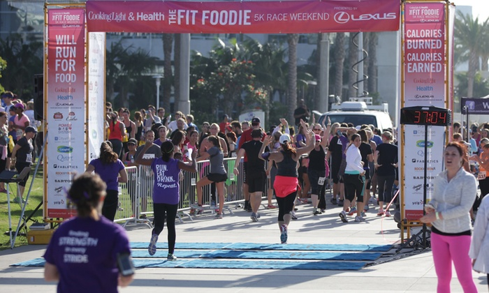 Fit Foodie 5K - Merrifield: Fit Foodie 5K Entry for One or Two at Mosaic District on Saturday, June 20 (Up to 50% Off)