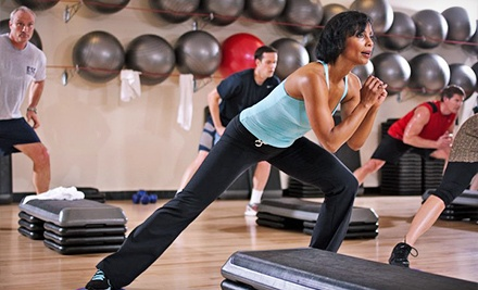 Fourteen visits with unlimited access to fitness classes, swimming, racquetball, and squash