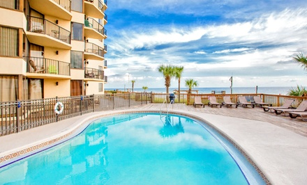 Stay at Sunbird Beach Resort in Panama City Beach, FL; Dates into February