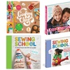 Kids' Sewing, Knitting, and Cooking Craft Books
