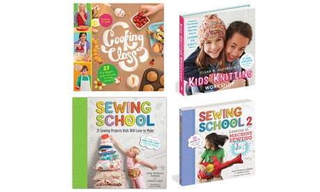 Kids' Sewing, Knitting, and Cooking Craft Books 90473758-ef16-11e6-8341-002590604002