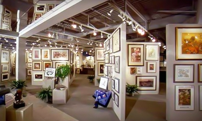 Gallery One - Cleveland: $25 for $50 (or $50 for $100) Worth of Art, Framing Services, and Décor at Gallery One in Mentor