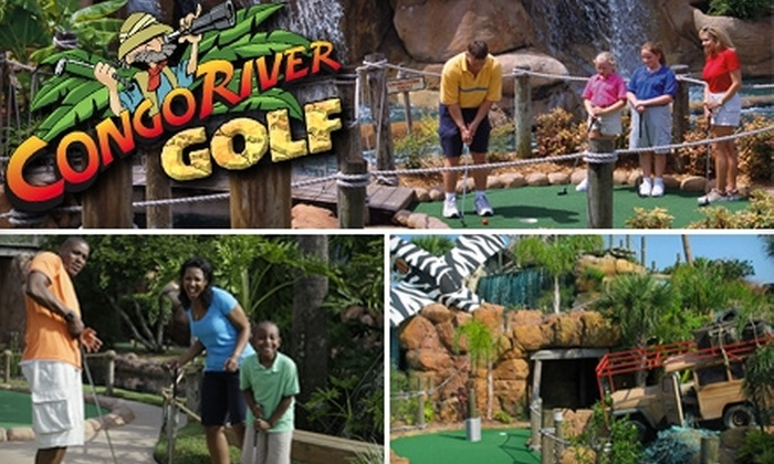 $14 for Two 18-Hole Rounds at Congo River Golf and Two Gator Feedings (Up to a $28.87 Value). Choose from Six Locations.