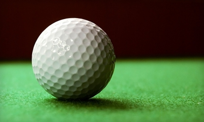 Tee's Golf Grill - Chesterfield: One Hour of Indoor Simulated Golf at Tee's Golf Grill in Chesterfield. Two Options Available.