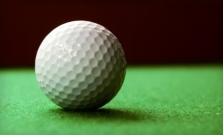 Tee's Golf Grill: 1 Hour of Indoor Simulated Golf (Mon.-Thurs.) - Tee's Golf Grill in Chesterfield
