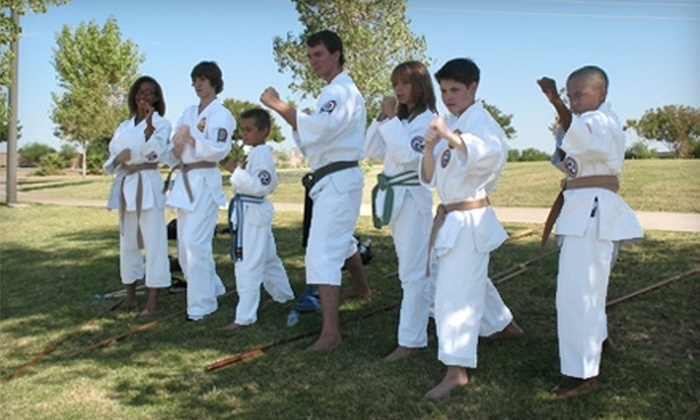 Peaceful Warrior Martial Arts & Healing Center - Corvalian Estates: $80 for One Week of Kids' Summer Camp at Peaceful Warrior Martial Arts & Healing Center in Scottsdale ($160 Value)