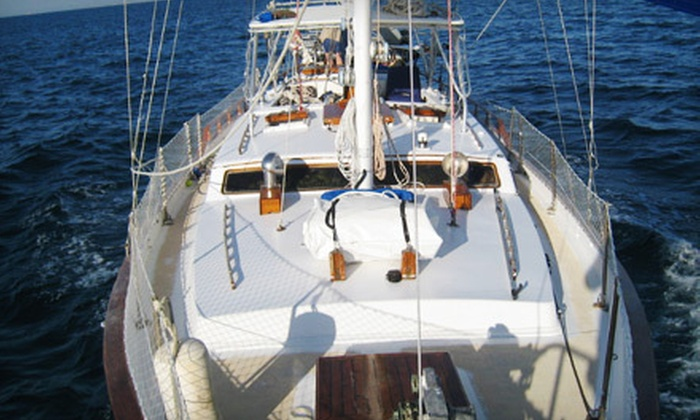 Atlantis V Charters - Tarpon Springs: Half- or Full-Day Sailing Outing from Atlantis V Charters in Tarpon Springs (Up to 51% Off)