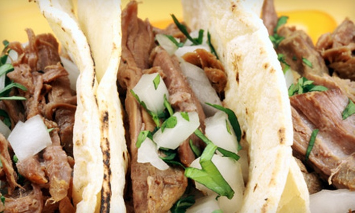 El Jalapeno Taqueria & Restaurant - Northside/ Northline: Authentic Mexican Meal with Appetizer, Entrees, and Drinks for Two or $7 for $15 Worth of Mexican Cuisine at El Jalapeno Taqueria & Restaurant