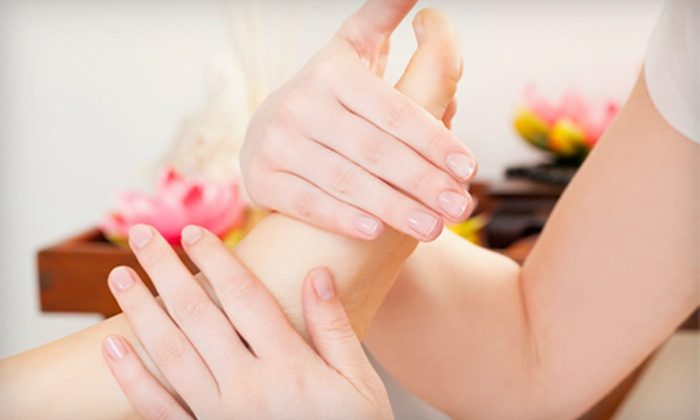 KB Massage Therapy - Multiple Locations: Foot Detox and Massage for One or Two, or 30-Minute Foot Massage for One at KB Massage Therapy (Up to 58% Off)
