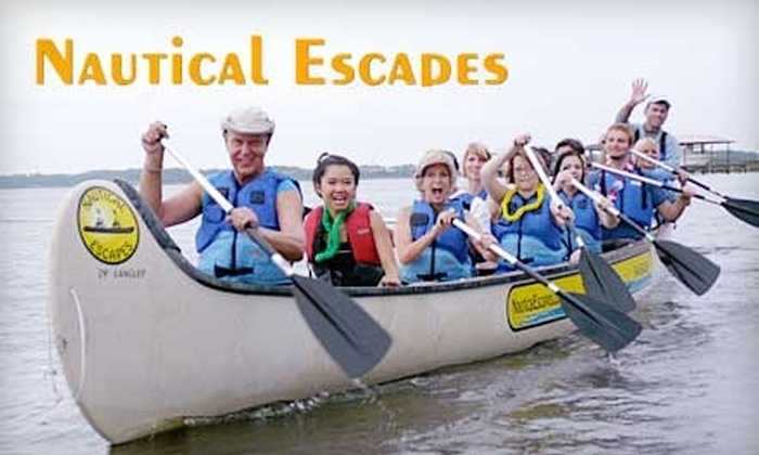 Nautical Escapes - North Beach: $33 for Two Tickets to a Two-Hour Nautilus Canoe Tour with Nautical Escapes ($66 Value)