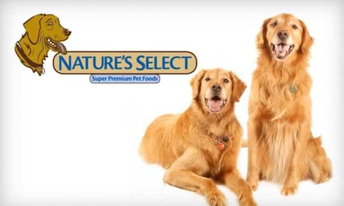 Nature's Select - Sacramento: $20 for $40 Worth of Pet Food from Nature's Select