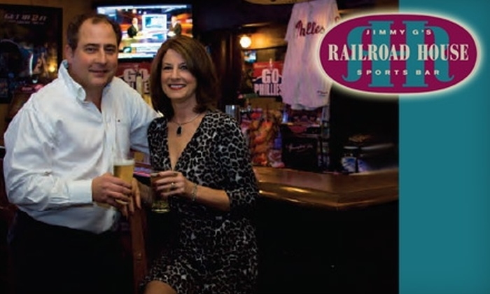 Railroad House - Sinking Spring: $7 for $15 Worth of Hearty Sandwiches, Pub Fare, and Drinks at The Railroad House