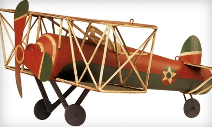 Top Fun Aviation Toy Museum - Fitchburg: $5 for Admission for Two Adults and Two Children to the Top Fun Aviation Toy Museum ($10 Value)