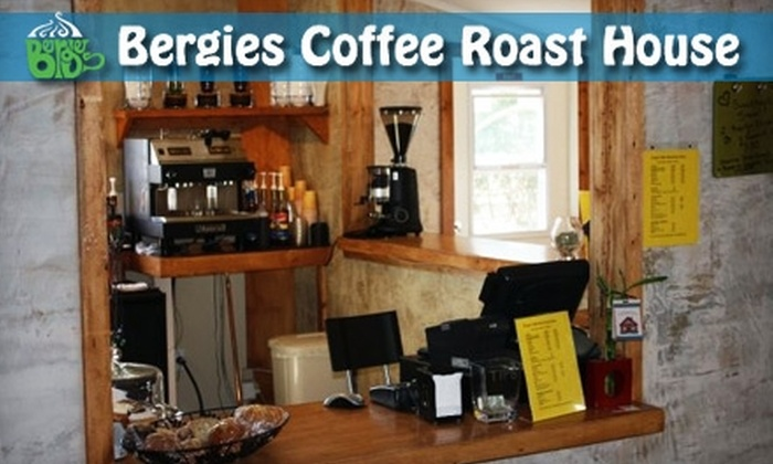 Bergies Coffee Roast House - Heritage District: $3 for $6 Worth of Café Fare and Hot Drinks at Bergies Coffee Roast House in Gilbert