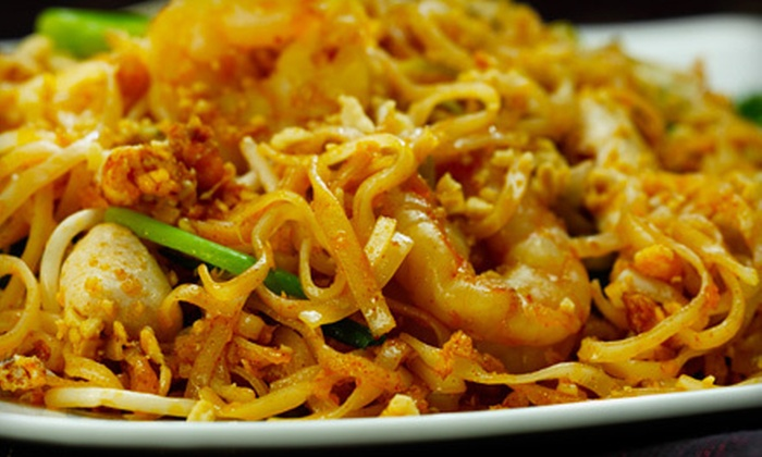 Wai Wai Thai Place Express - The Village Of Overland Pointe: $10 for $20 Worth of Thai Fare and Drinks at Wai Wai Thai Place Express in Overland Park