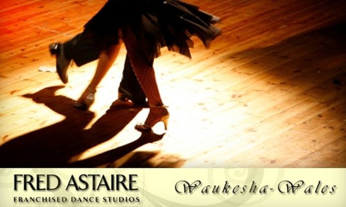 Fred Astaire Dance Studio  - Wales: $15 for Two Private Dance Lessons and One Practice Party at Fred Astaire Dance Studio ($39 Value)