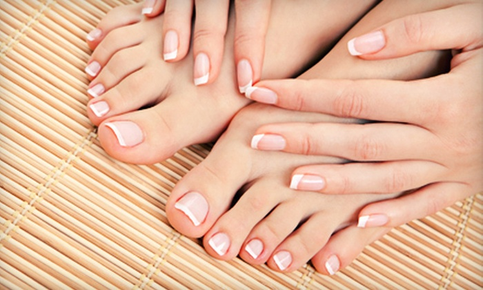 Artistex an Odete DaSilva Salon & Spa - Westport: Mani-Pedi at Artistex an Odete DaSilva Salon & Spa in Westport (Up to 56% Off). Two Options Available.