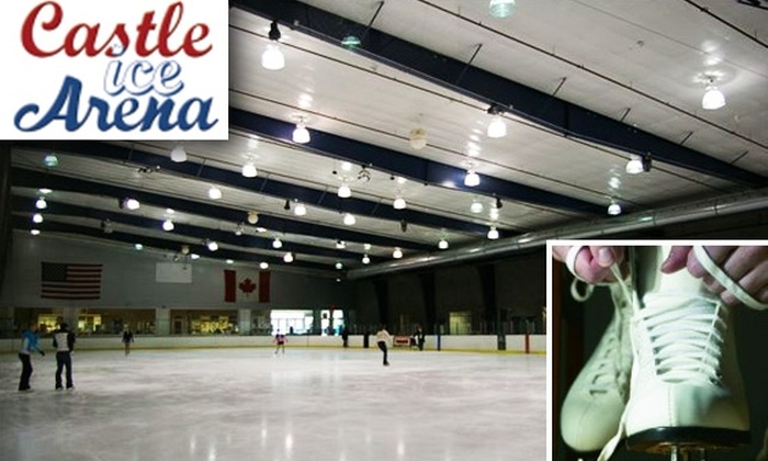 Castle Ice Arena - East Renton Highlands: Five-Day Ice-Skating Pass and Skate Rental at Castle Ice Arena