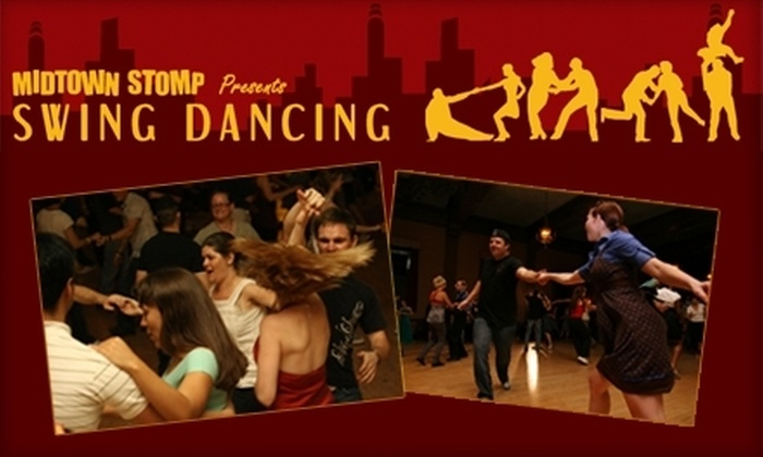 Midtown Stomp Swing Dancing - Midtown: $5 for One Swing-Dancing Class and Three-Hour Open Dance with Phat Cat Swinger on May 7 at Midtown Stomp Swing Dancing ($12 Value)