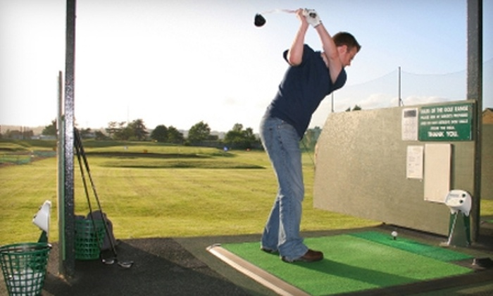 The Golf Range Academy - Tottenham: $20 for Five Large Buckets of Balls at The Golf Range Academy in Tottenham ($50 Value)
