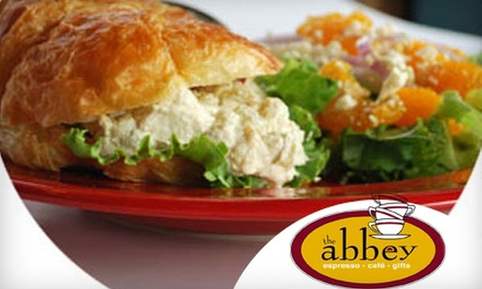The Abbey Espresso Bar & Café - Belleville: $7 for $15 Worth of Lunch at The Abbey Espresso Bar & Café in Belleville