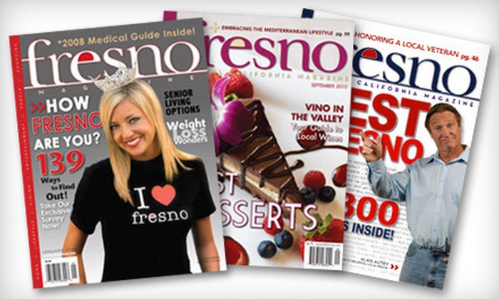 """Fresno Magazine"" - Armenian Town: One-, Two-, or Three-Year Subscription to ""Fresno Magazine"" (Up to Half Off)"