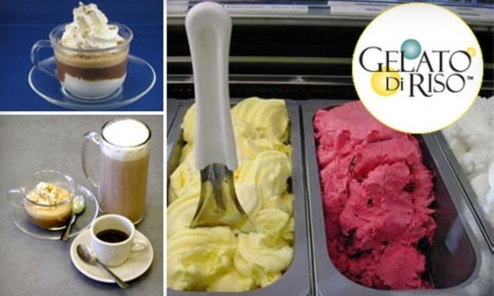 Gelato Di Riso - Multiple Locations: $4 for $9 Worth of Gelato and More at Gelato Di Riso
