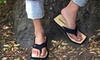 Chipkos - Canada: $24 for One Pair of Men's or Women's Chipkos Original Sandals in Black, White, or Red from Chipkos ($48 Value)