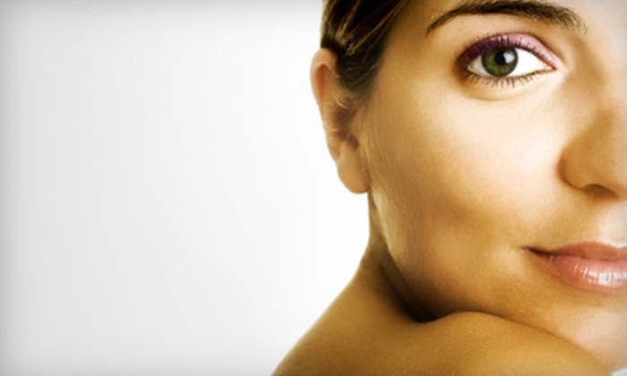 Flaunt Salon - Five Points: $15 for Airbrush Tan Session with Golden Booster at Flaunt Salon ($30 Value)