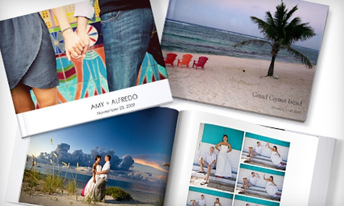 MyPublisher: $25 for a Deluxe Hardcover Photo Book with Supergloss Pages from MyPublisher ($99.74 Value)