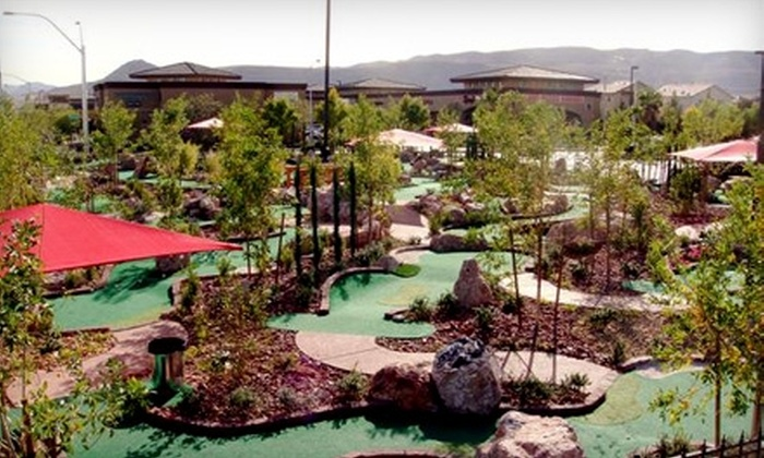 The Putt Park Miniature Golf Course - Rhodes Ranch: $15 for Four Rounds of Mini Golf at The Putt Park Miniature Golf Course (Up to $34 Value)