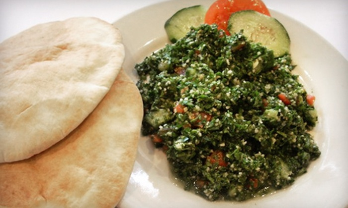 Falafel King - Windom Park: Pita-Sandwich Meal for Four or $7 for $14 Worth of Mediterranean Fare at Falafel King
