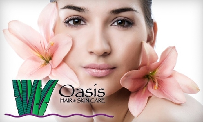 Oasis Hair & Skin Care - Santa Cruz: Skincare Services or Microdermabrasion Treatment at Oasis Hair and Skin Care. Two Options Available.