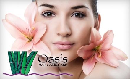 Oasis Hair & Skin Care: $80 Groupon - Oasis Hair & Skin Care in Santa Cruz