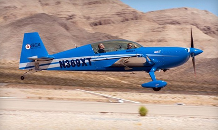 Sky Combat Ace - Henderson: $199 for an Afterburner-Flight Experience at Sky Combat Ace in Henderson ($524 Value)