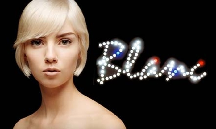Blanc Hair Salon - Oak Lawn: $39 for $85 Worth of Hair Services at Blanc Hair Salon in Uptown