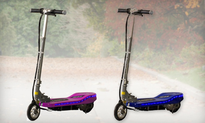 Daymak - Jane and Finch: Pink or Blue Deluxe Speed I Motorized Scooter at Daymak (52% Off)