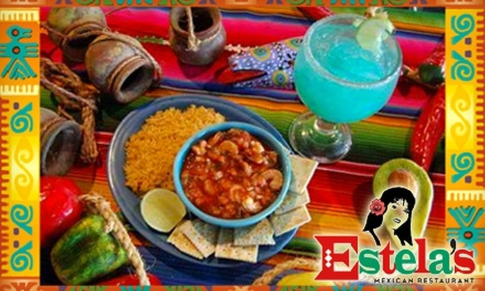 Estela's Mexican Restaurant - Tampa Bay Area: $12 for $25 Worth of Authentic Mexican Dinner Fare and Drinks at Estela's Mexican Restaurant in St. Petersburg