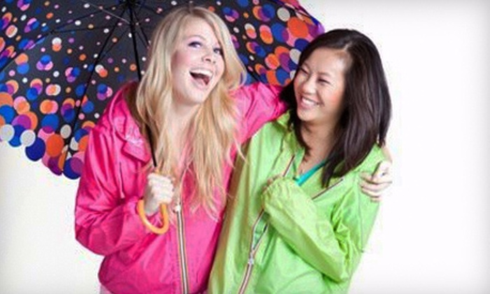 GumDrops Wet Weather Boutique - Kitsilano: $25 for $50 Worth of Rain Apparel at GumDrops Wet Weather Boutique