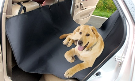 $25 for a Large Pet Car Back Seat Waterproof Cover