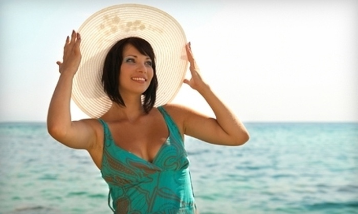 """Sun Tan City - Multiple Locations: $20 For Five Visit """"Tour of the City,"""" or Two Sunless Visits (Up to $113 Value)"""