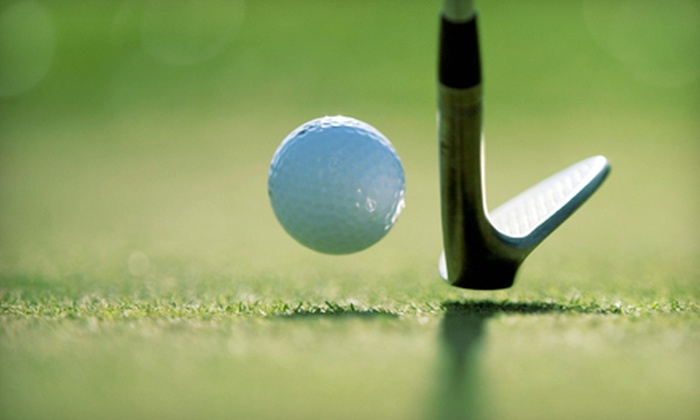 Bowden Golf Club - Jenkinsburg Station: $15 for a Round of Golf with a Cart and Small Bucket of Driving-Range Balls at Bowden Golf Club (Up to $31 Value)
