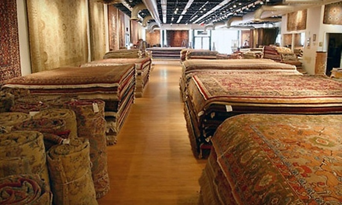 J & J Oriental Rug Gallery - Old Town: Rug Cleaning and Repairs from J & J Oriental Rug Gallery. Two Options Available.